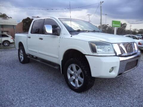 2011 Nissan Titan for sale at PICAYUNE AUTO SALES in Picayune MS