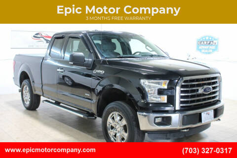 2015 Ford F-150 for sale at Epic Motor Company in Chantilly VA