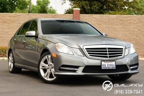 2013 Mercedes-Benz E-Class for sale at Galaxy Autosport in Sacramento CA
