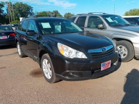 2010 Subaru Outback for sale at L & J Motors in Mandan ND