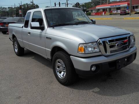 2009 Ford Ranger for sale at GLOBAL AUTOMOTIVE in Grayslake IL