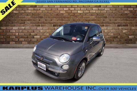 2013 FIAT 500 for sale at Karplus Warehouse in Pacoima CA