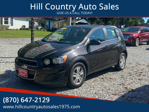 2015 Chevrolet Sonic for sale at Hill Country Auto Sales in Maynard AR