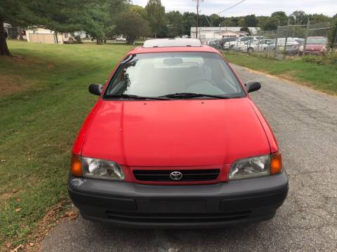 1996 Toyota Tercel for sale at Speed Auto Mall in Greensboro NC