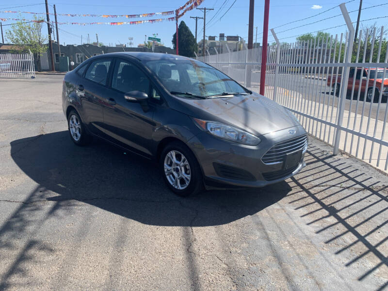 2016 Ford Fiesta for sale at Robert B Gibson Auto Sales INC in Albuquerque NM