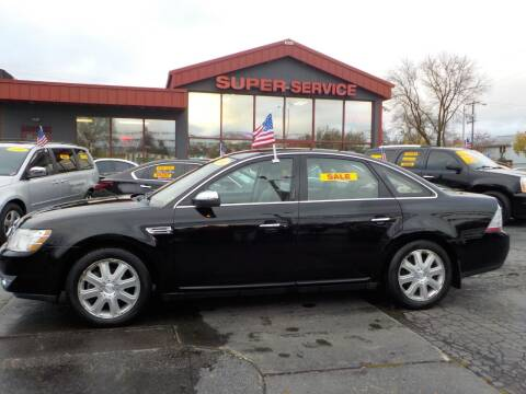 2008 Ford Taurus for sale at Super Service Used Cars in Milwaukee WI