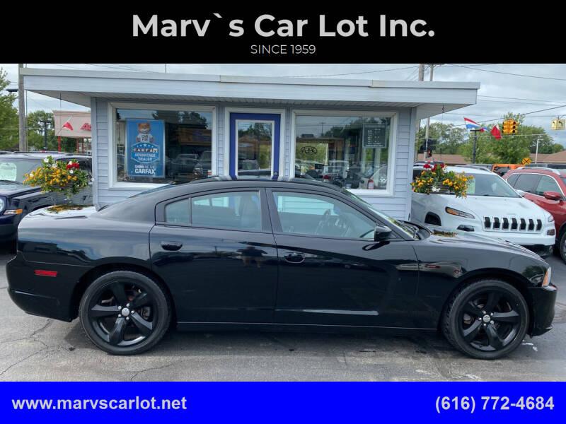 2012 Dodge Charger for sale at Marv`s Car Lot Inc. in Zeeland MI