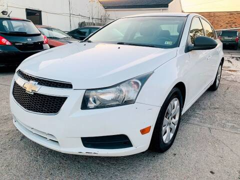 2012 Chevrolet Cruze for sale at Auto Space LLC in Norfolk VA