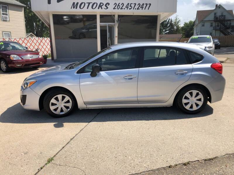 2012 Subaru Impreza for sale at TL Motors LLC in Hartford WI