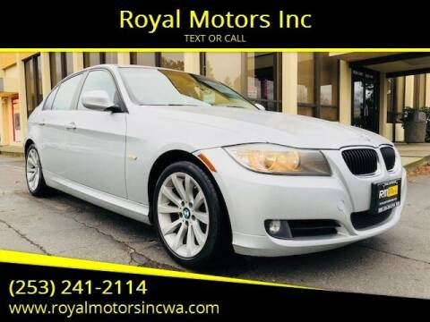 2011 BMW 3 Series for sale at Royal Motors Inc in Kent WA