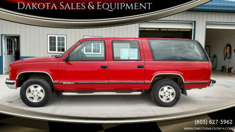 1994 GMC Suburban for sale at Dakota Sales & Equipment in Arlington SD