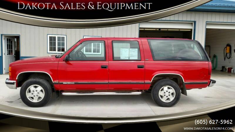 1994 GMC Suburban for sale at Dakota Sales & Equipment in Arlington SD