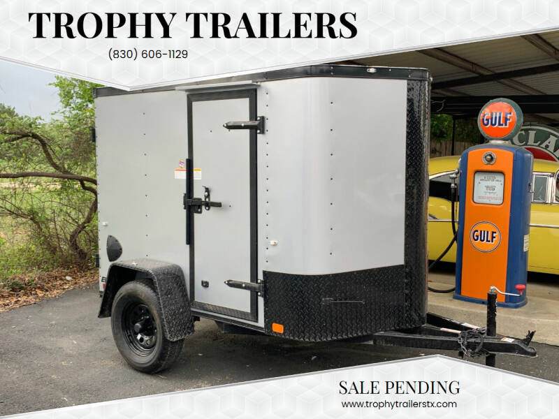 2021 CARGO CRAFT 5X8 DOORS for sale at Trophy Trailers in New Braunfels TX