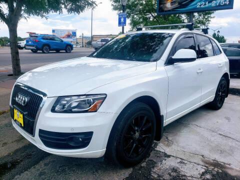 2012 Audi Q5 for sale at J & M PRECISION AUTOMOTIVE, INC in Fort Collins CO