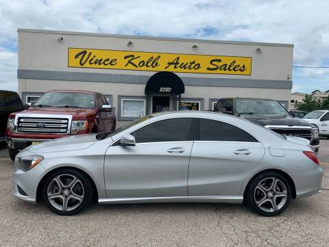 2014 Mercedes-Benz CLA for sale at Vince Kolb Auto Sales in Lake Ozark MO