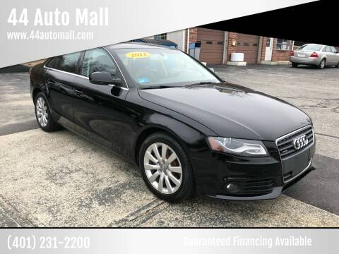 2011 Audi A4 for sale at 44 Auto Mall in Smithfield RI
