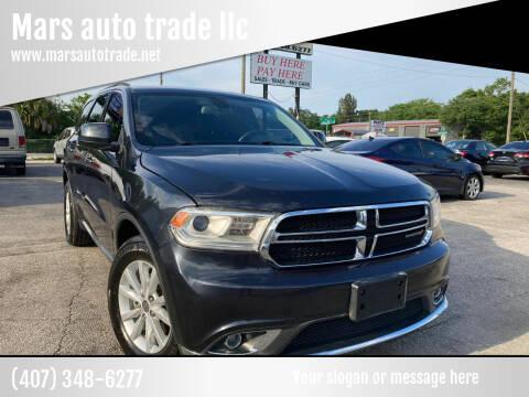 2014 Dodge Durango for sale at Mars auto trade llc in Kissimmee FL