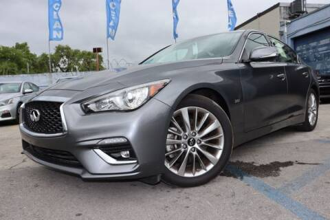 2019 Infiniti Q50 for sale at OCEAN AUTO SALES in Miami FL
