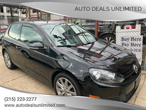 2013 Volkswagen Golf for sale at AUTO DEALS UNLIMITED in Philadelphia PA