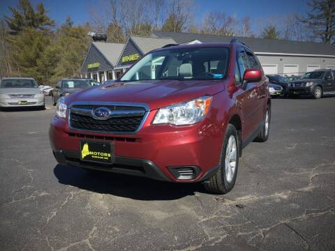 2016 Subaru Forester for sale at 207 Motors in Gorham ME