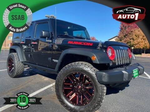 2015 Jeep Wrangler Unlimited for sale at Street Smart Auto Brokers in Colorado Springs CO