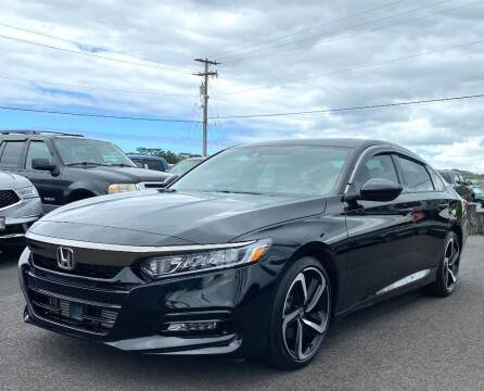 2020 Honda Accord for sale at PONO'S USED CARS in Hilo HI