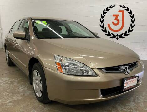 2005 Honda Accord for sale at 3 J Auto Sales Inc in Arlington Heights IL