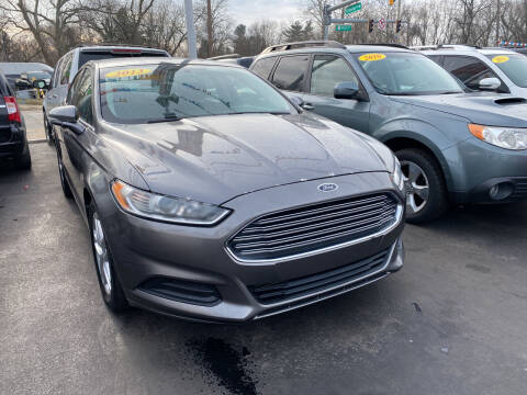 2013 Ford Fusion for sale at WOLF'S ELITE AUTOS in Wilmington DE