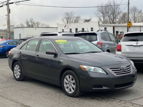 2008 Toyota Camry Hybrid for sale at MetroWest Auto Sales in Worcester MA