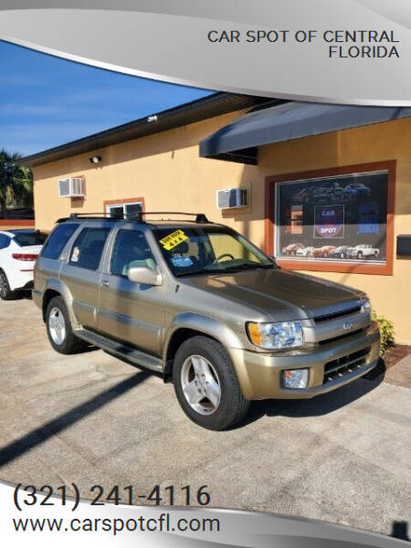 2002 Infiniti QX4 for sale at Car Spot Of Central Florida in Melbourne FL