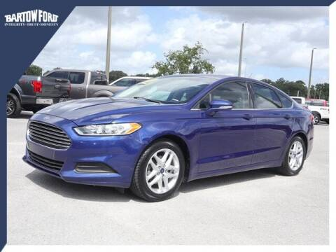 2015 Ford Fusion for sale at BARTOW FORD CO. in Bartow FL