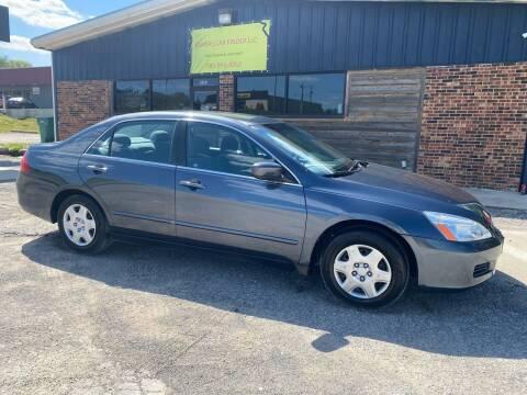 2007 Honda Accord for sale at Kansas Car Finder in Valley Falls KS