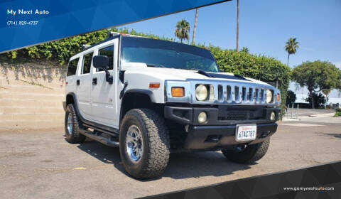2004 HUMMER H2 for sale at My Next Auto in Anaheim CA