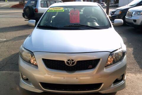2009 Toyota Corolla for sale at Trust Petroleum in Rockland MA