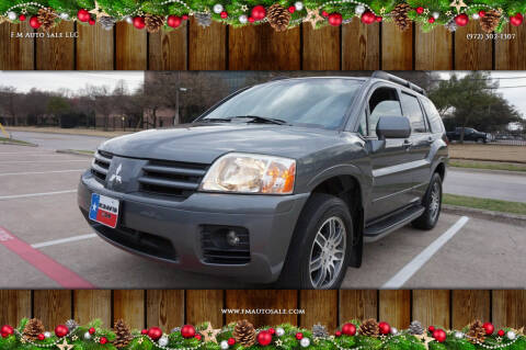 2005 Mitsubishi Endeavor for sale at F.M Auto Sale LLC in Dallas TX