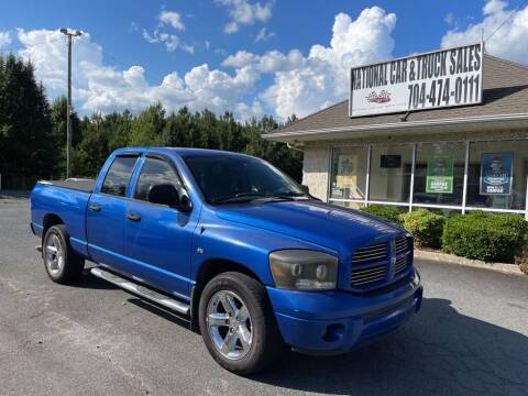 2007 Dodge Ram Pickup 1500 for sale at NATIONAL CAR AND TRUCK SALES LLC in Norwood NC