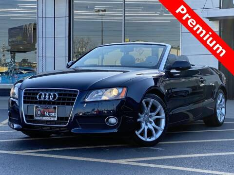 2010 Audi A5 for sale at Carmel Motors in Indianapolis IN