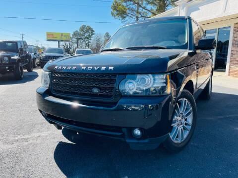 2012 Land Rover Range Rover for sale at North Georgia Auto Brokers in Snellville GA