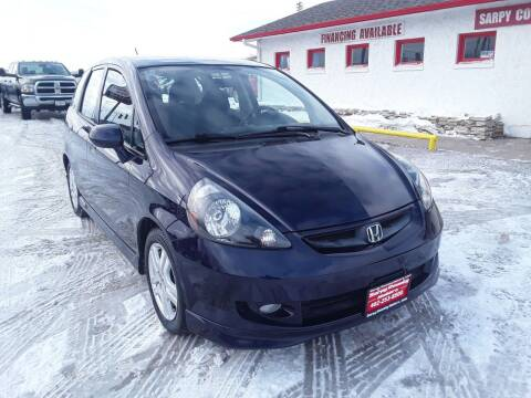2008 Honda Fit for sale at Sarpy County Motors in Springfield NE