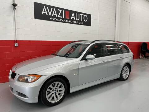 2007 BMW 3 Series for sale at AVAZI AUTO GROUP LLC in Gaithersburg MD