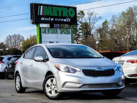 2015 Kia Forte for sale at Used Imports Auto - Metro Auto Credit in Smyrna GA