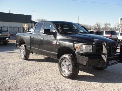 2008 Dodge Ram Pickup 2500 for sale at Frieling Auto Sales in Manhattan KS