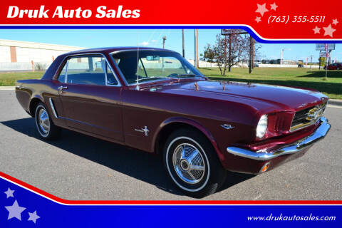 1965 Ford Mustang for sale at Druk Auto Sales in Ramsey MN