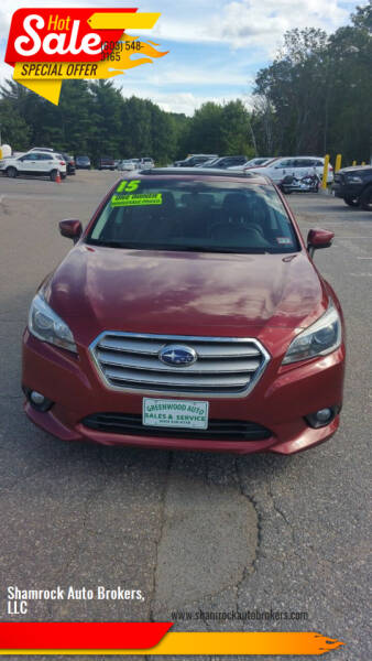 2015 Subaru Legacy for sale at Shamrock Auto Brokers, LLC in Belmont NH