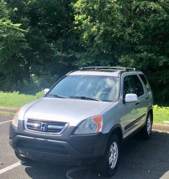 2003 Honda CR-V for sale at ONE NATION AUTO SALE LLC in Fredericksburg VA