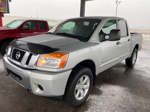 2015 Nissan Titan for sale at Top Line Auto Sales in Idaho Falls ID