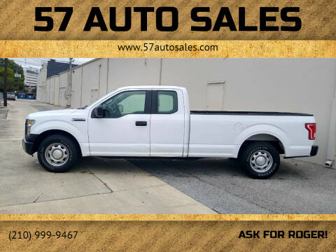 2017 Ford F-150 for sale at 57 Auto Sales in San Antonio TX