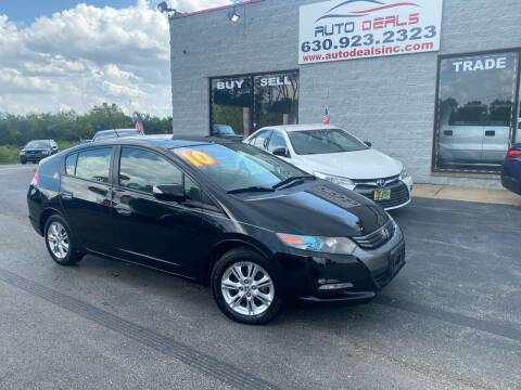 2010 Honda Insight for sale at Auto Deals in Roselle IL