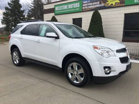 2013 Chevrolet Equinox for sale at MILESTONE MOTORS in Chesterfield MI