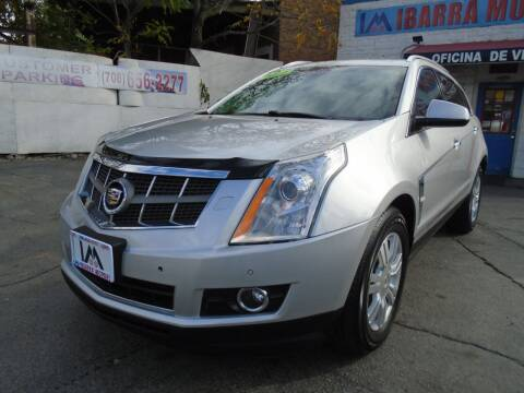 2012 Cadillac SRX for sale at IBARRA MOTORS INC in Cicero IL